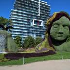 MosaïCanada, la transformation temporaire du Parc Jacques-Cartier